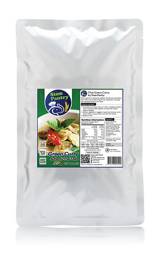 Instant Green Curry Sauce 1000 grams