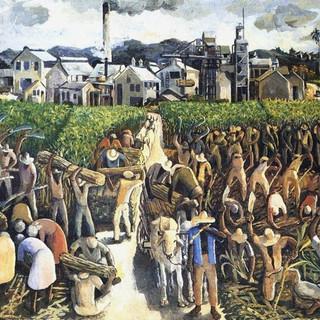 Albert Huie, Crop Time, 1953.