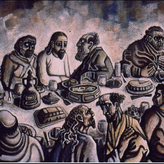 Carl Abrahams, Last Supper, 1955.