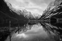 The fjord of Nærøyfjorden