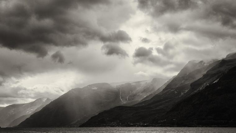 Along the Hardangerfjord