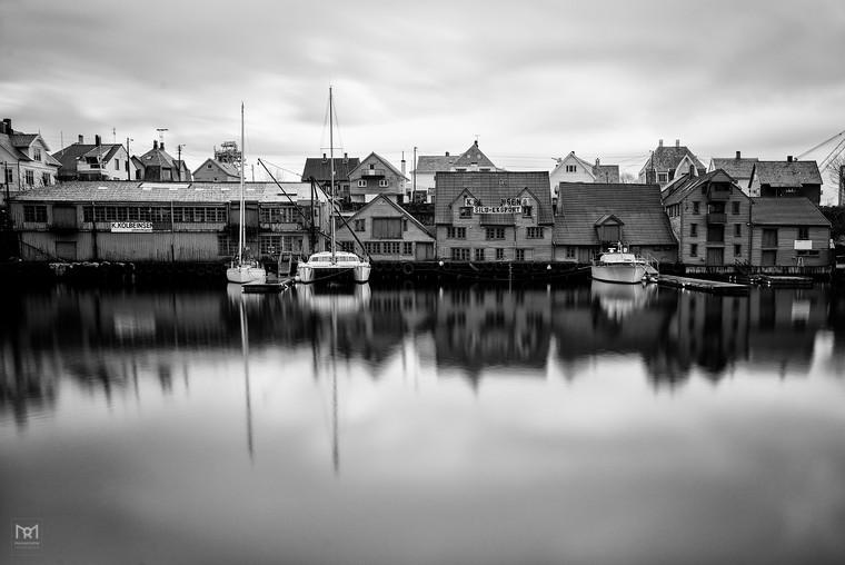 A morning walk in Haugesund