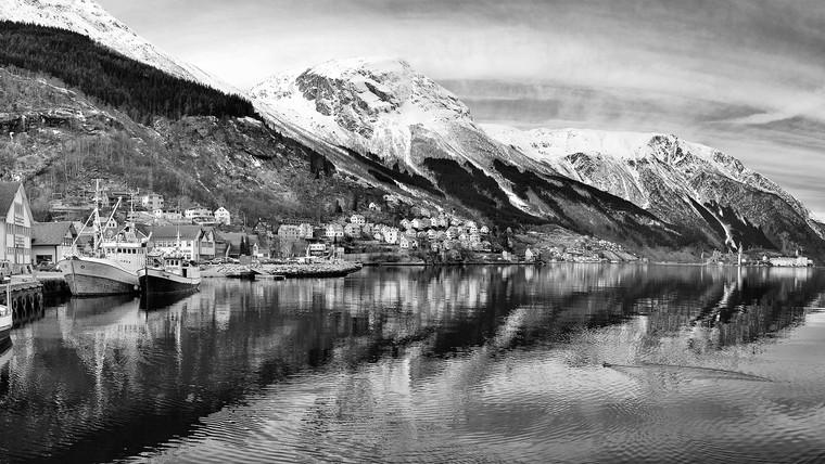 Etne, Odda and the fjord of Hardangerfjorden