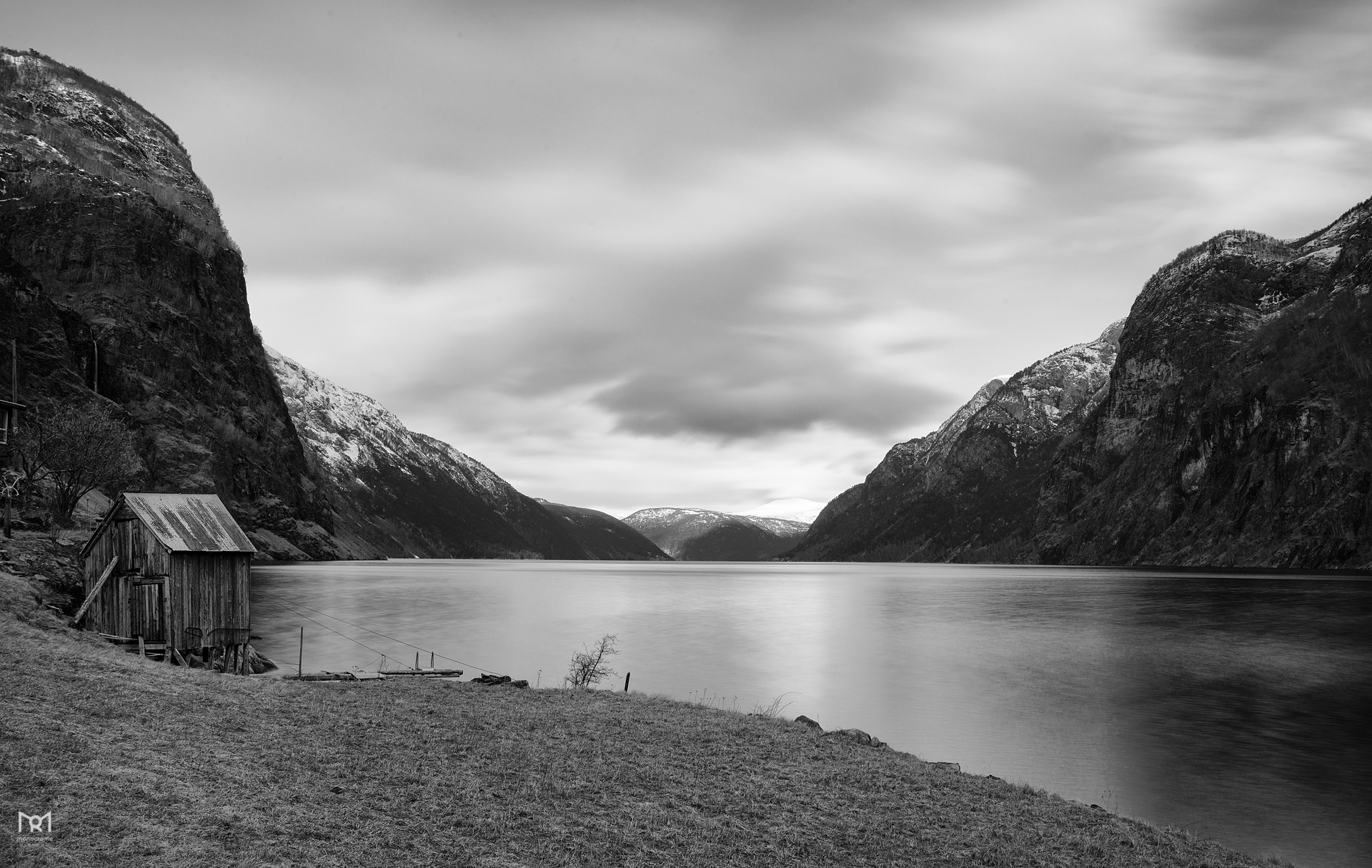 The fjord of Sognefjorden