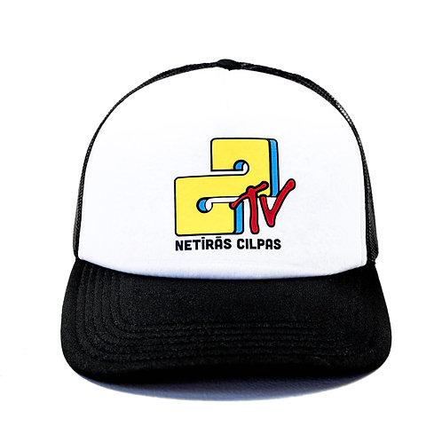 NCTV cepure (balta)