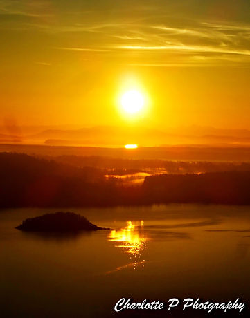 Beautiful Sunset in Victoria BC