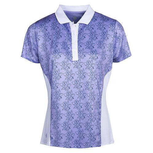 Island Green Freesia Floral Polo Shirt