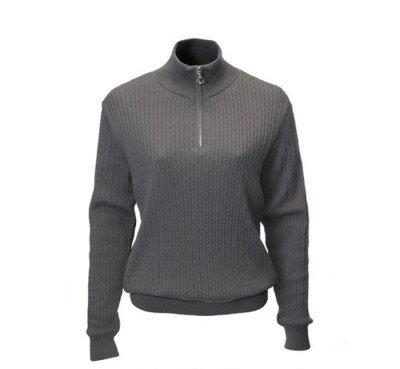 JRB Ladies Golf Sweater - Graphite