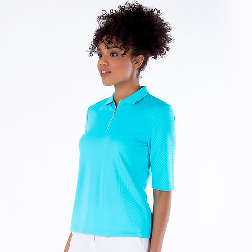 Nivo Sylvie Half Sleeve Polo Shirt