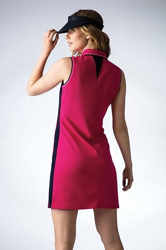 Glenmuir Steffi Pique Golf Dress with Undershorts, Magenta