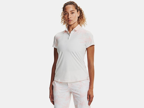 Under Armour UA Iso-Chill Short Sleeve Polo, White