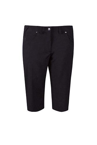 Glenmuir LOTTIE Ladies Lightweight Stretch Performance Golf Shorts, Black