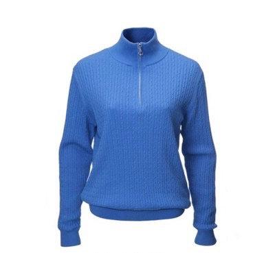 JRB Ladies Golf Sweater - Amparo Blue