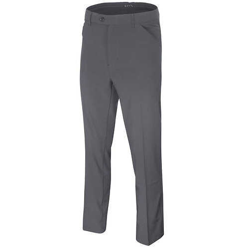 Island Green Stretch Tapered Leg Trousers, Charcoal