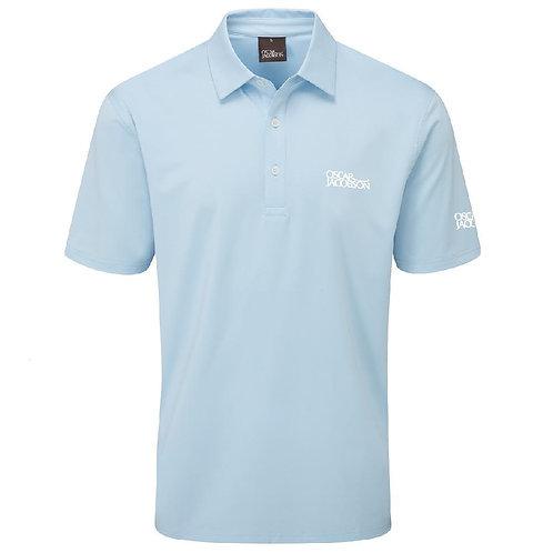 Oscar Jacobson Chap Tour Polo Shirt, Sky Blue