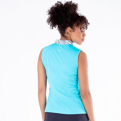 Nivo Shayla Sleeveless Polo Shirt