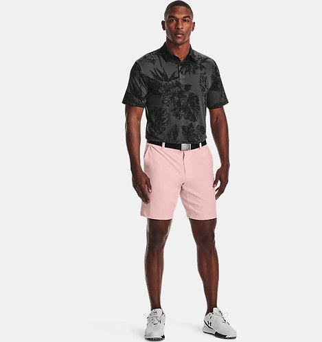 Under Armour Playoff Polo 2.0, Black Floral (025)