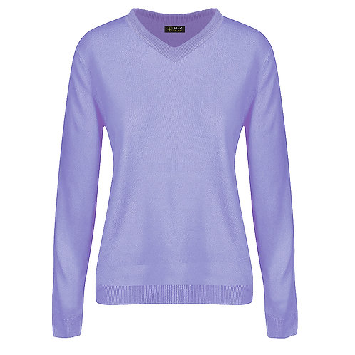 Island Green V Neck Soft Knit Sweater