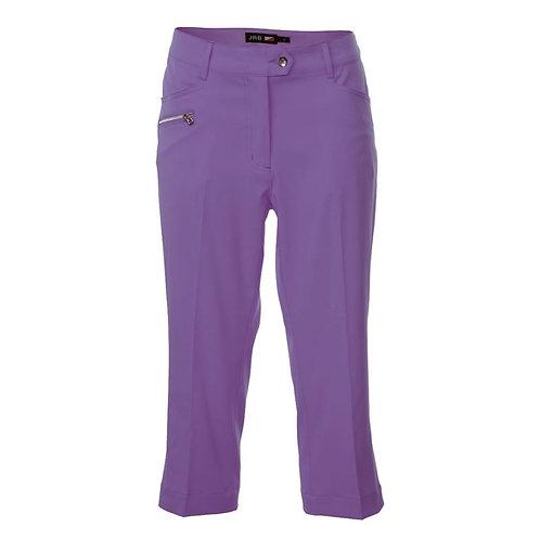 JRB Women's Capri Trousers - Purple