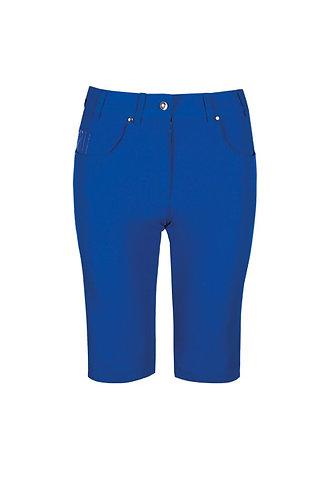 Glenmuir LOTTIE Ladies Lightweight Stretch Performance Golf Shorts, Ascot Blue