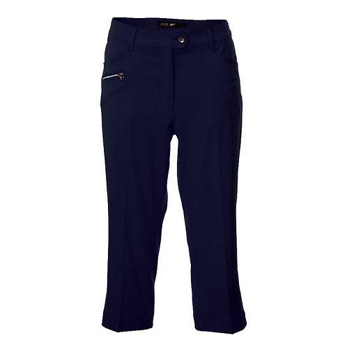 JRB Women's Capri Trousers - Navy