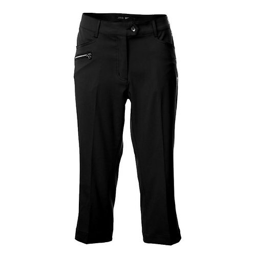 JRB Women's Capri Trousers - Black