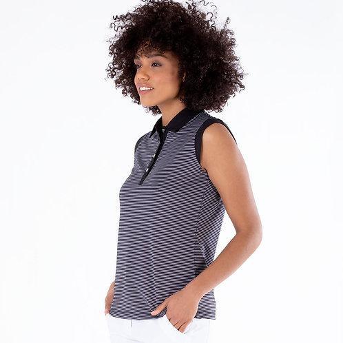 Nivo Dottie Sleeveless Polo Shirt