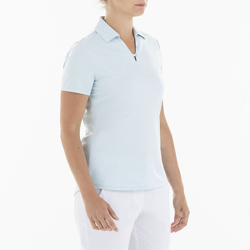 Nivo GINGER POLO - 401 ICE BLUE