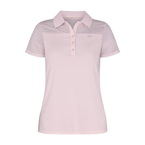 Rohnisch Miko Poloshirt, Pink Clouds