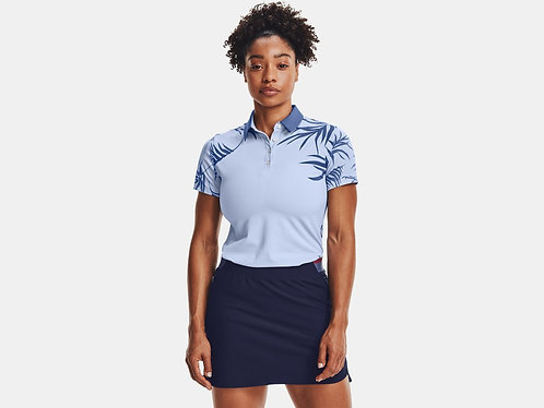 Under Armour UA Iso-Chill Short Sleeve Polo, Isotope Blue