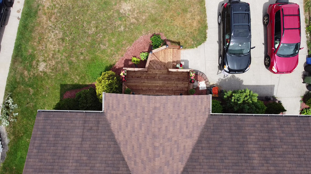 Drone Video of Front Porch