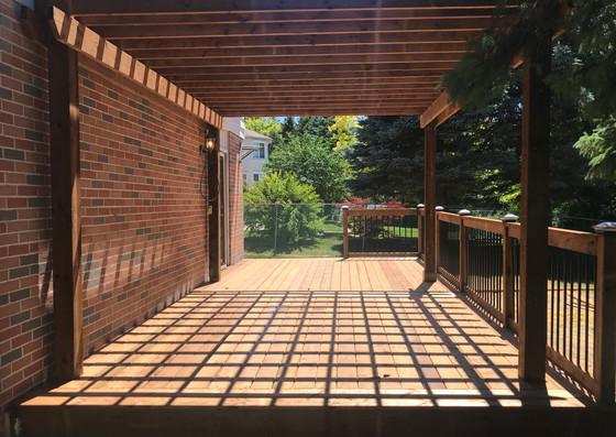 Custom Deck and Pergola Build