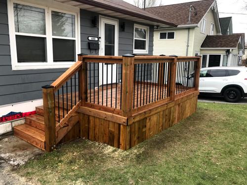 Porch Deck Build