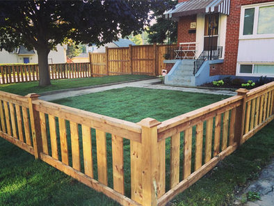 Custom Built Fence