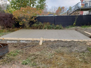 Concrete Pad for Shed Build