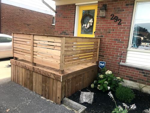 Front Porch Custom Build