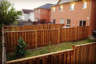 New Fences Built for Neighbourhood