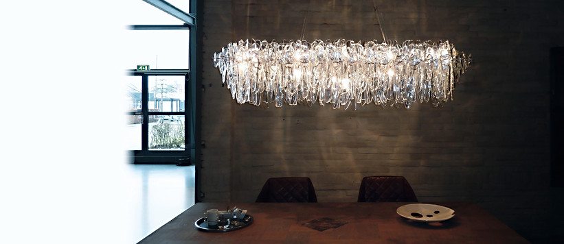 NEONIS-LIGHTING Glacier Stretch Chandelier