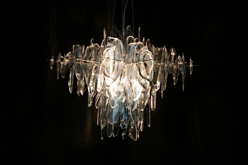 NEONIS-LIGHTING Glacier Diamond Chandelier
