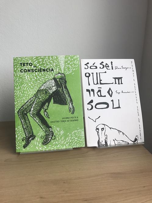 Livros de Juliano Poeta - poesias e ilustrações
