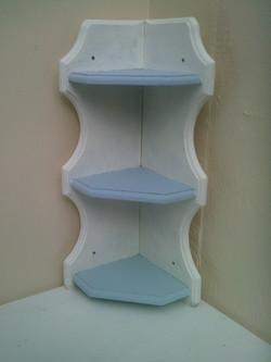 Shabby Chic Corner shelves