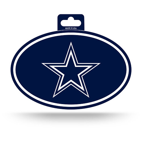 Dallas Cowboys Oval Sticker