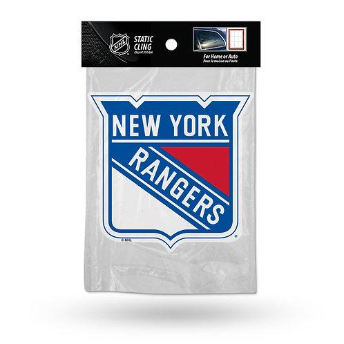 New York Rangers Static Cling
