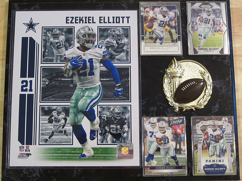 Ezekiel Elliott Plaque