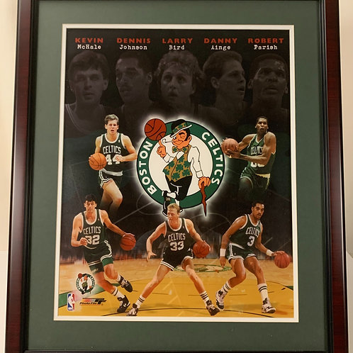 Boston Celtics 1986 Championship Team Starting Five