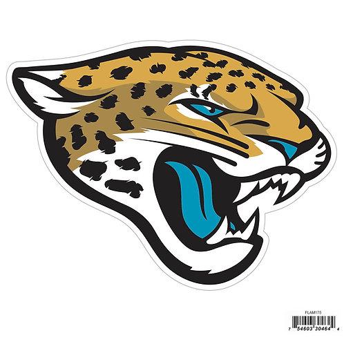 """Jacksonville Jaguars 8"""" Logo Magnet"""