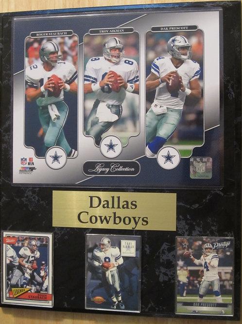 Dallas Cowboys Legacy Plaque