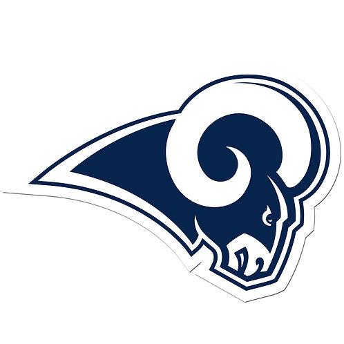 "Los Angeles Rams 8"" Auto Decal"