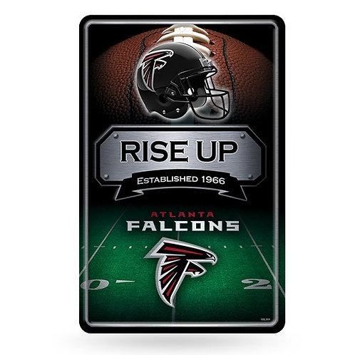 Atlanta Falcons Metal Sign