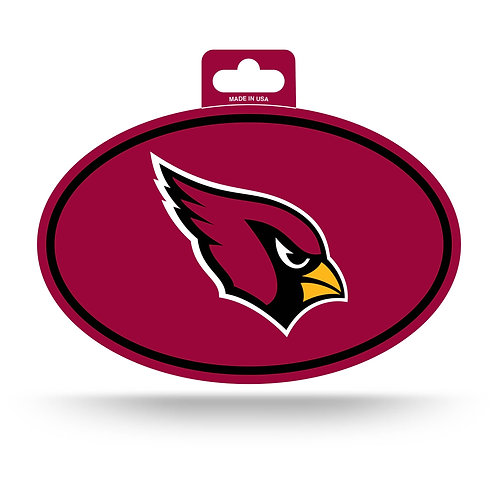 Arizona Cardinals Oval Sticker
